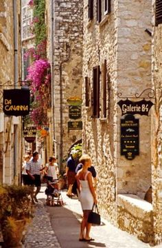 One of my favorite places in the world - St. Paul de Vence, France
