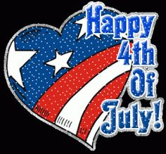 July 4th  -  There is no one that I would like to spend this day with.  I love you!!!