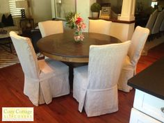 Image result for parson chair and round table