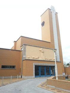 Heilig Hartkerk in Lier, Belgium. Designed by Flor van Reeth, 1938.