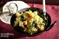 This sweet and mild curry is delicious served with chapatti or naan bread. For a…