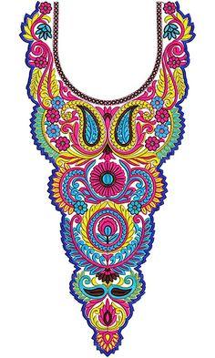 Lawn Dress Designer Neck Bridal Design