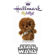Hallmark ITTY BITTYS ●● Star Wars CHEWBACCA ●● Itty Bitty Star Wars Chewy!