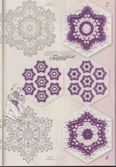 Crochet motifs - Picasa Web Albums