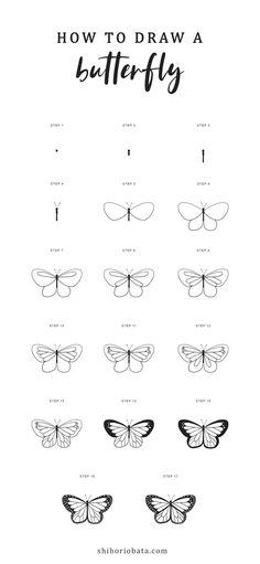 Easy Flower Drawings, Easy Doodles Drawings, Easy Doodle Art, Flower Drawing Tutorials, Cute Easy Drawings, Simple Doodles, Pencil Art Drawings, Drawing Ideas, Easy Drawing Designs