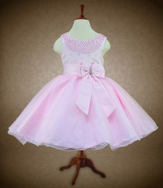 Pearl Bodice with Satin Bow
