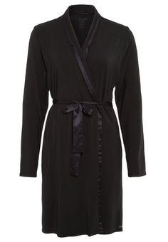 Eleganter Bademantel aus kuschelweichem Jersey. Calvin Klein Underwear MODAL WITH SATIN - Bademantel - black für 69,95 € (25.11.15) versandkostenfrei bei Zalando bestellen.