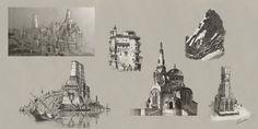 ArtStation - Byzantine Sketches, Lucas Helmintoller