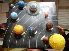 una actividad para conocer el espacio y los planetas