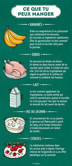 Les 5 aliments à éviter avant de dormir, et ceux que l'on peut manger
