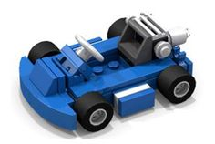 Racing Kart (Blue)