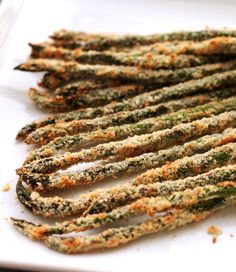 Trying to eat healthier? Check out this recipe for deliciously baked asparagus fries from @pbsfood.