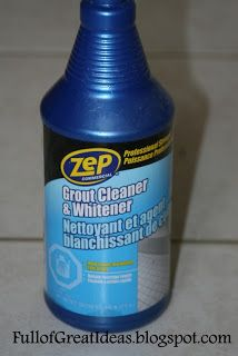 Zep sold at Home Depot. Best way to clean grout. also recommends Dawn & peroxide for everyday grout cleaning.