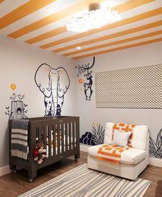 Decorações temáticas caem bem para crianças. Dicas e ideias para deixar o quarto do bebê com uma decoração moderna - limaonagua