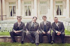 A fun bunch of groomsmen! Photo by Sarah M. #MinneapolisWeddings
