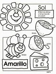 How You Can Learn Spanish Better Through the Arts Preschool Spanish, Elementary Spanish, Spanish Activities, Spanish Classroom, Teaching Spanish, Preschool Activities, Spanish Worksheets, Classroom Ideas, Petite Section