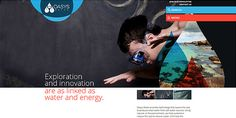 Oasys Water - CoolHomepages Web Design Gallery