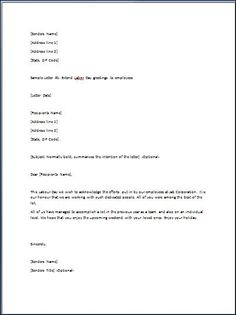 New employee introduction email letter Letter Writing