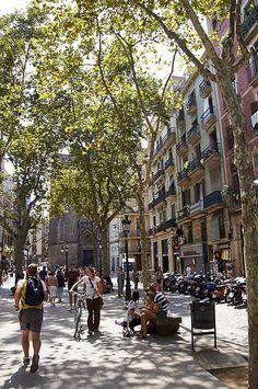 Passeig del Born, Barcelona Catalonia