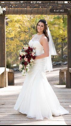 Rustic Glam Wedding Dress Idea