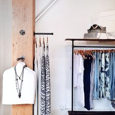 Minimalist styling at our Northloop fashion retail store