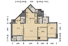 주택 평면도 - Google 검색