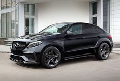 "The Mercedes GLE Coupe Becomes a Raging ""Inferno"" If the look of Mercedes-Benz's ""SUV coupe"" wasn't distinctive enough for your liking, then TOPCAR's new tuning and visual kit for all of the GLE models may do the trick. Mercedes Benz Suv, Mercedes Gle Coupe, Volkswagen Touran, Ford Gt, Auto Poster, M Bmw, Bmw M3, Vw Touareg, Mercedez Benz"