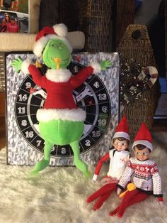 Elf on the Shelf….Bullseye
