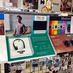 Our new retail display! Muse can now be found at Best Buy and Future Shop accross Canada!