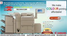 Hiring all Brands of photo copier on rent at very low rates is very easy, call to us immediately and get free installation and well training of photocopier machine.  http://kopierservices1.blogspot.in/2016/11/things-to-consider-while-choosing.html