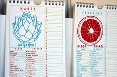 #artichoke #letterpress #tablet #grapefruit #calendar