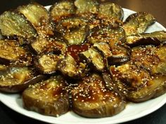 roasted eggplant with soy sauce Soup Recipes, Vegetarian Recipes, Healthy Recipes, Salsa, Vegan Foods, My Favorite Food, Vegetable Recipes, Food And Drink, Yummy Food
