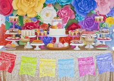 Colorful Mexican Themed Baby Shower With Lots Of Really Fun Ideas Via  Karau0027su2026