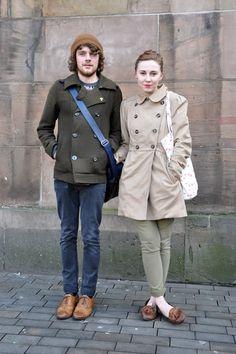 cute casual couple