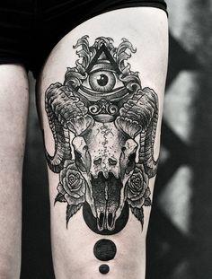 Tatouage étonnant par Daniel Meyer