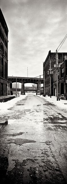 Awesome photograph of the West Bottoms, Kansas City by Gavin Angell.