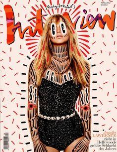 Hattie Stewart doodles on Interview Magazine