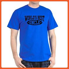 CafePress - World's Best Uncle T-Shirt - 100% Cotton T-Shirt - Relatives and family shirts (*Partner-Link)