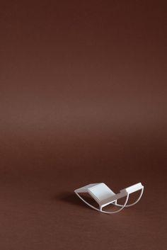 3D print Sergio Magnano, Canopo design Franco Albini, Cassina.