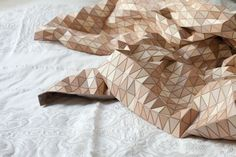 Amazing wooden fabric by Elisa Strozyk.