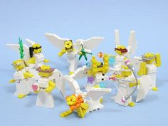 Lego christmas Angels @Ron Wyble