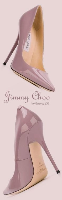 Jimmy Choo by nellie #jimmychooheelsred #stilettoheelsjimmychoo #jimmychooheelspink