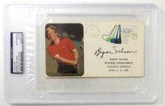Byron Nelson PGA Golf Signed 1978 42nd Masters Envelope PSA/DNA