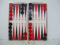 Vintage Remotrol Magnetic Backgammon & Acey Ducey by DivineOrders