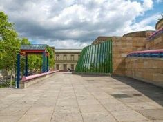 The Neue Staatsgalerie by James Stirling, 1977 to 1983, has been called the best Postmodern structure ever built