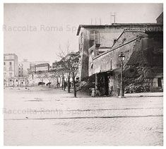Foto storiche di Roma - Piazza Esedra