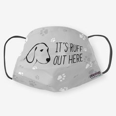 Buy a mask = Feed a shelter pet. A portion of every purchase goes toward shelter animals in need!]Read More. Dog Love, Puppy Love, Dog Mask, Small Sewing Projects, Diy Face Mask, Face Masks, Cool Things To Buy, Stuff To Buy, Fashion Face Mask