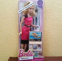 JW-Archive.org • Pioneer Barbie. I just know that in the 1980′s my... Jehovah's Witnesses Humor, Jw Memes, Jw Library, Jw Humor, Pioneer Gifts, Sofia Party, Jw Gifts, Social Platform, Barbie Dolls