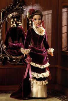 1995 great eras collection victorian lady barbie new nrfb