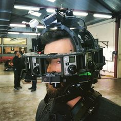 An awesome Virtual Reality pic! Möbius incarnate @georgeballenger  #virtualreality #bleedingedge #oculusvr #samsungVR #goprophotography #goprohero4 #radiantimages #neckbrace #fearthebeard #hdmi #local600 by sightunscene check us out: http://bit.ly/1KyLetq